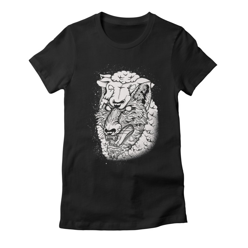 disguise Women's Fitted T-Shirt by audi's Artist Shop