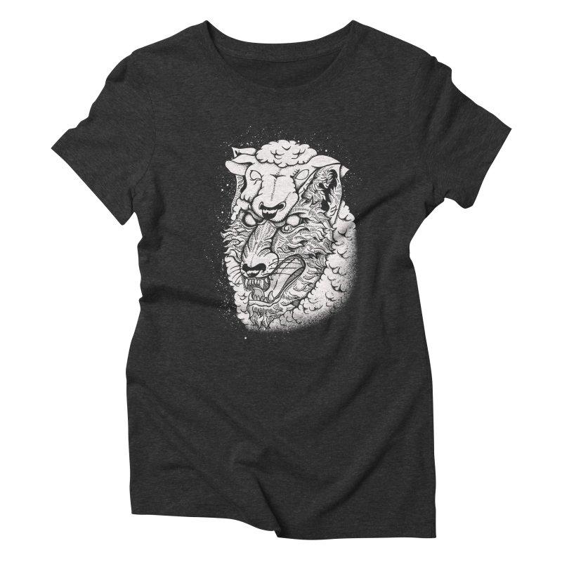 disguise Women's Triblend T-shirt by audi's Artist Shop