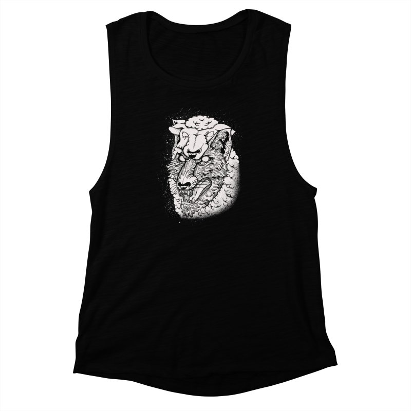 disguise Women's Muscle Tank by audi's Artist Shop