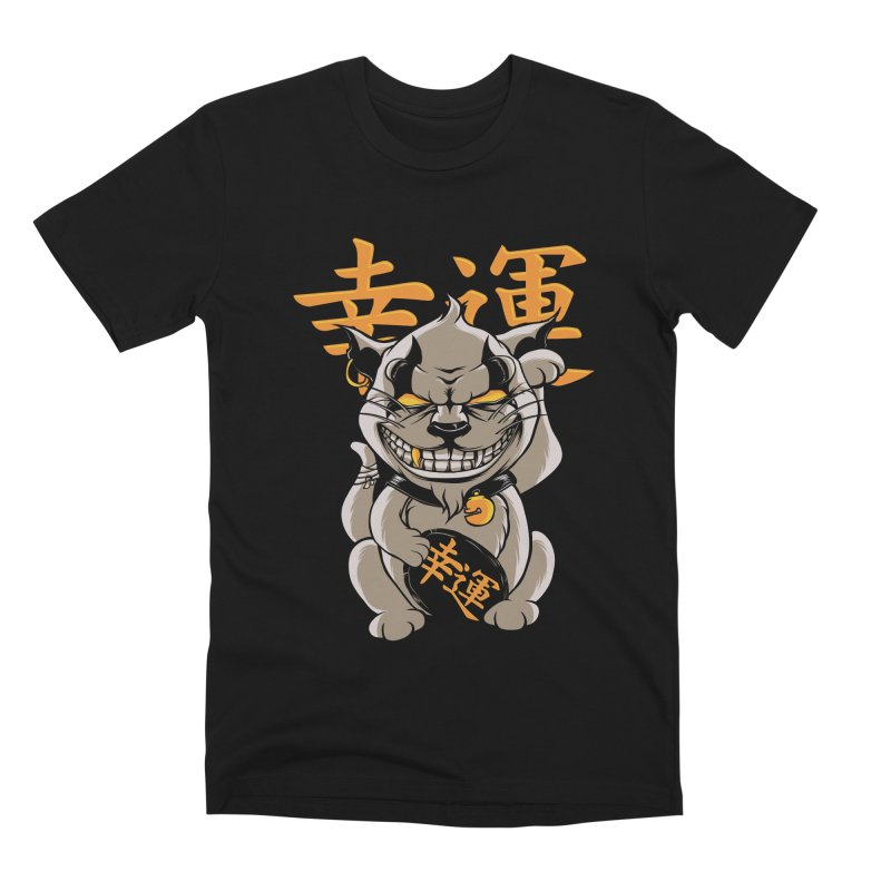 GOODLUCK Men's Premium T-Shirt by audi's Artist Shop