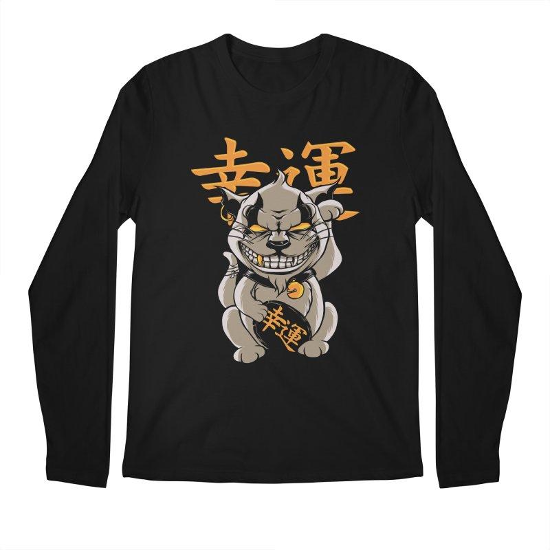 GOODLUCK Men's Regular Longsleeve T-Shirt by audi's Artist Shop