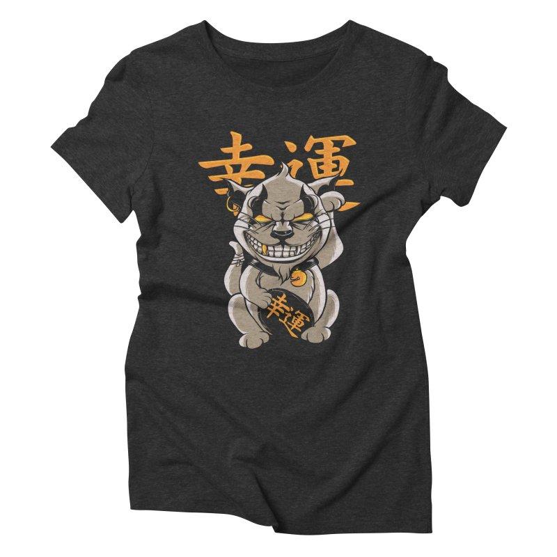 GOODLUCK Women's Triblend T-Shirt by audi's Artist Shop