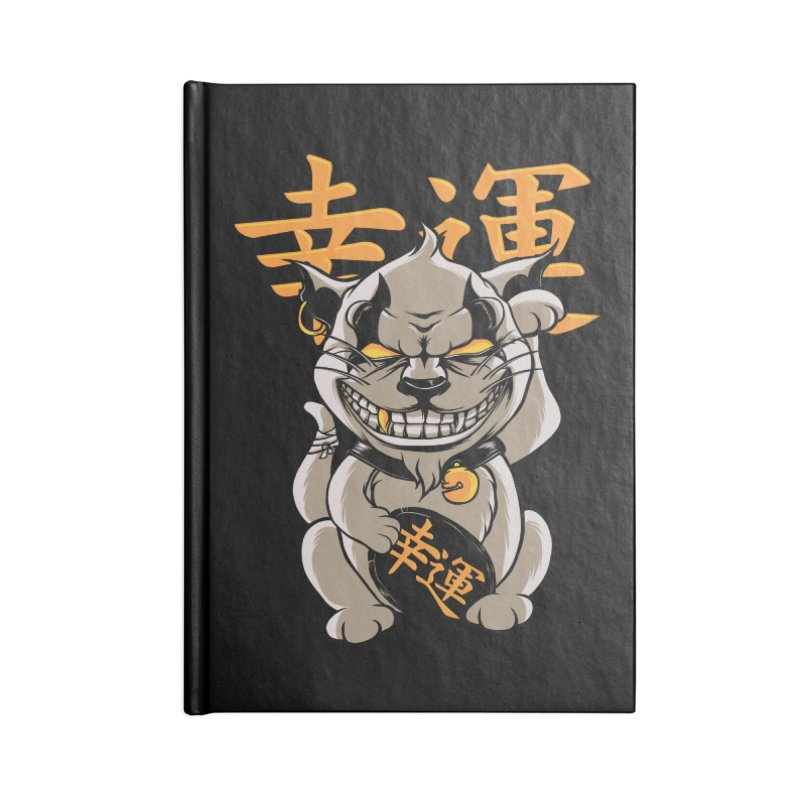 GOODLUCK Accessories Blank Journal Notebook by audi's Artist Shop