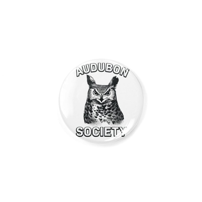 Vintage Owl Accessories Button by Official National Audubon Society Retail Store