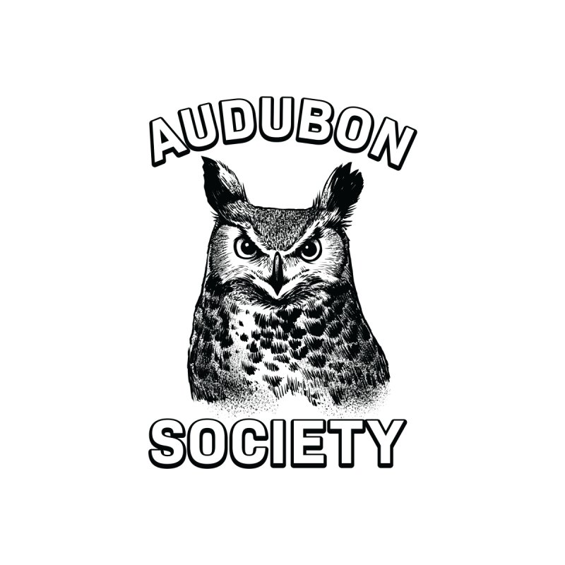 Vintage Owl Men's T-Shirt by Official National Audubon Society Retail Store
