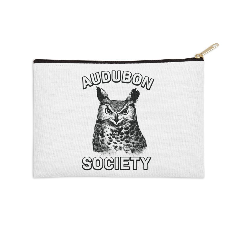 Vintage Owl Accessories Zip Pouch by Official National Audubon Society Retail Store