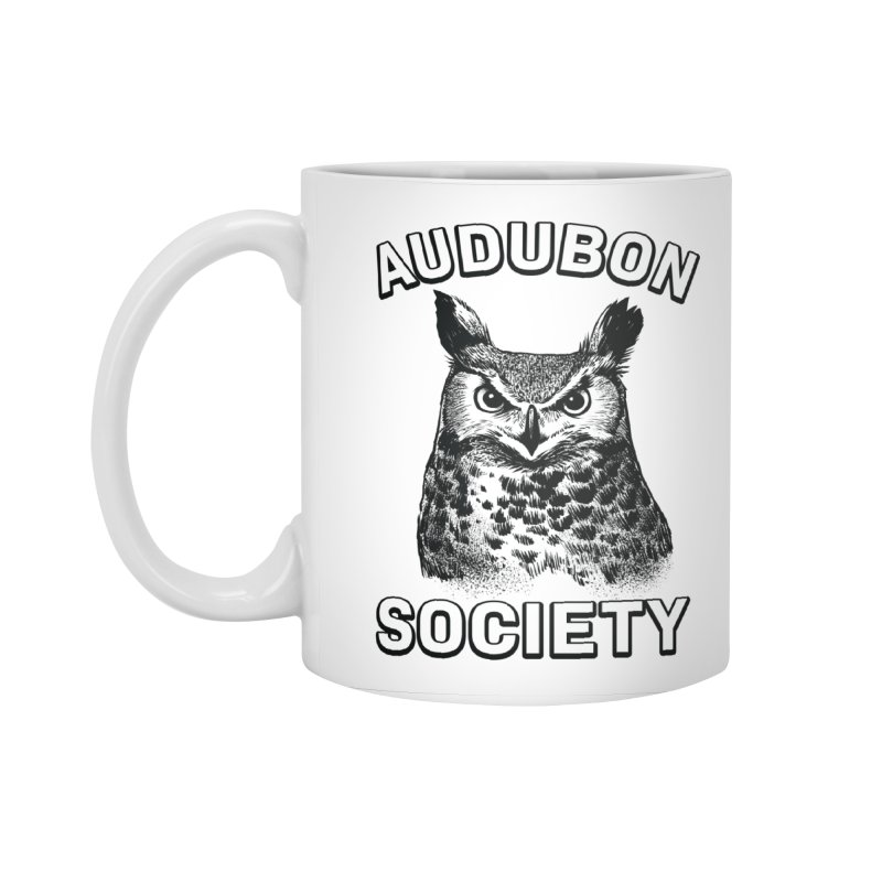 Vintage Owl Accessories Standard Mug by Official National Audubon Society Retail Store
