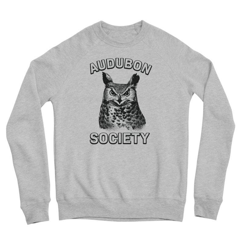 Vintage Owl Women's Sponge Fleece Sweatshirt by Official National Audubon Society Retail Store