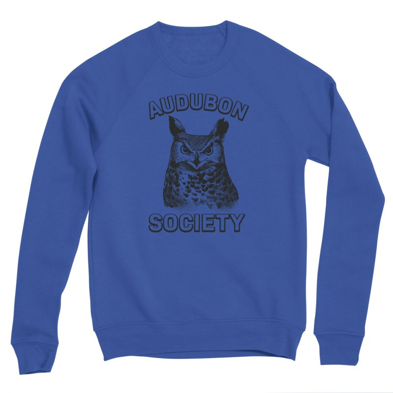 Vintage Owl Men's Sweatshirt by Official National Audubon Society Retail Store
