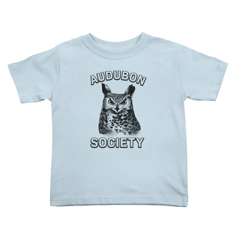 Vintage Owl Kids Toddler T-Shirt by Official National Audubon Society Retail Store