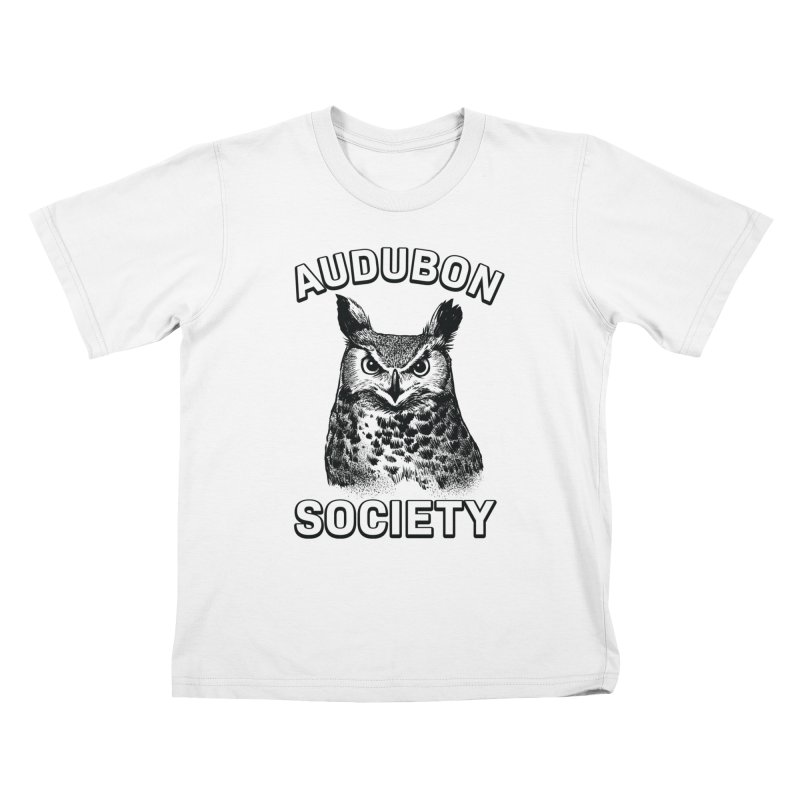 Vintage Owl Kids T-Shirt by Official National Audubon Society Retail Store