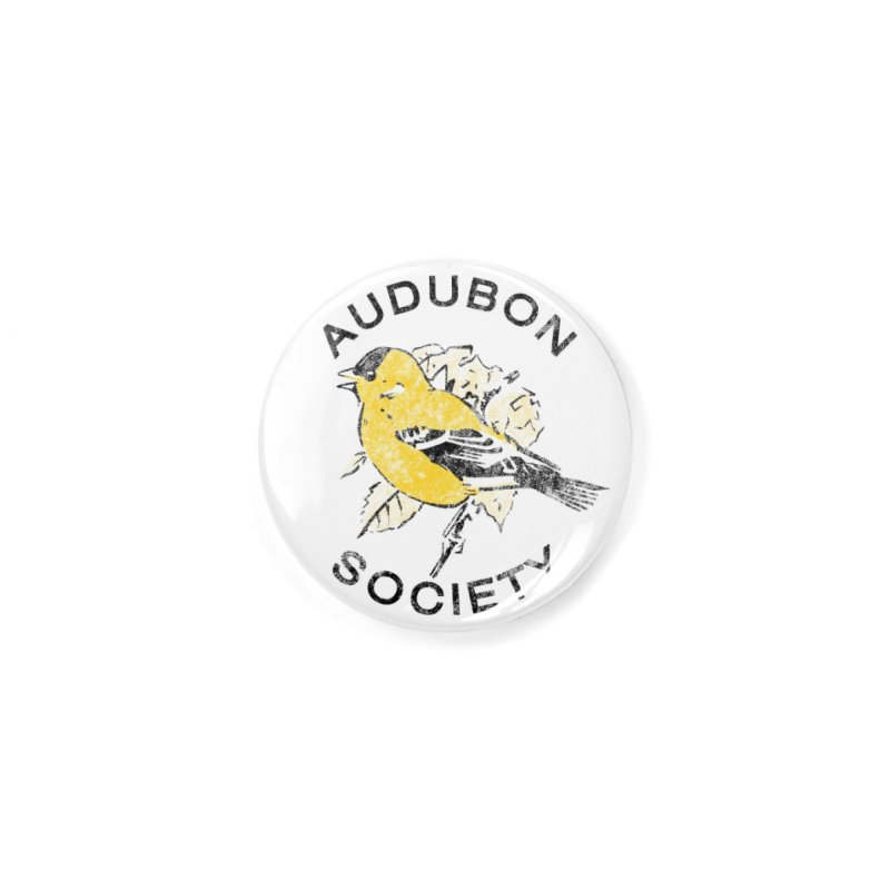 Vintage Goldfinch Accessories Button by Official National Audubon Society Retail Store