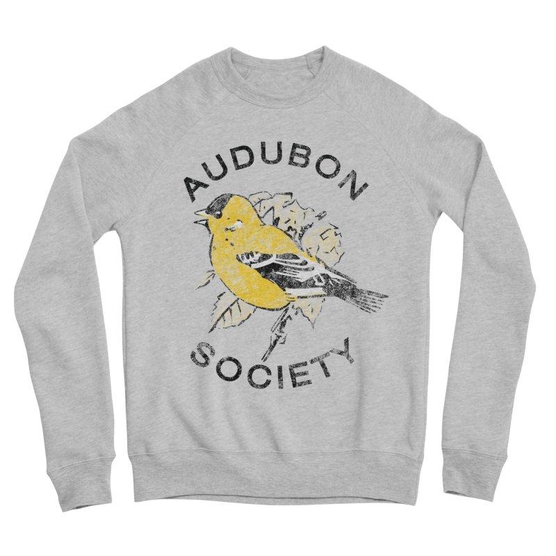 Vintage Goldfinch Men's Sponge Fleece Sweatshirt by Official National Audubon Society Retail Store