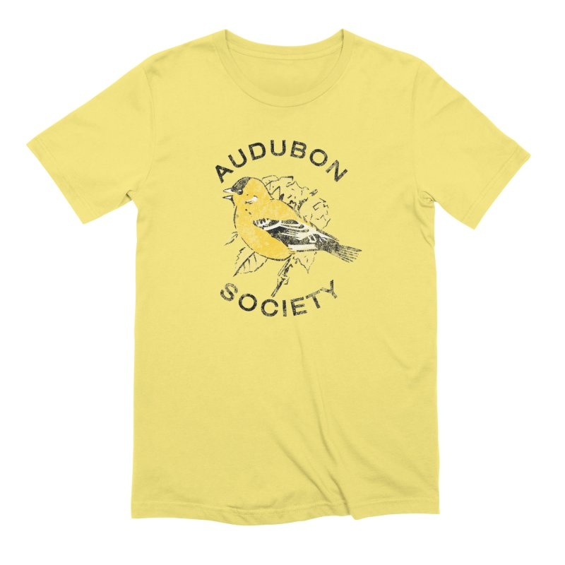 Vintage Goldfinch Men's T-Shirt by Official National Audubon Society Retail Store