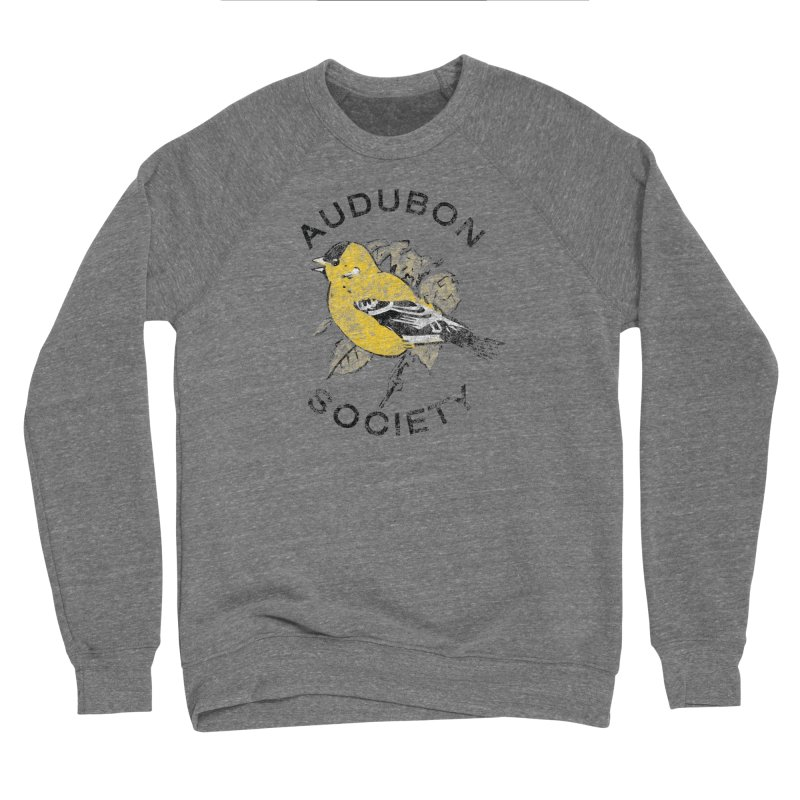 Vintage Goldfinch Men's Sweatshirt by Official National Audubon Society Retail Store