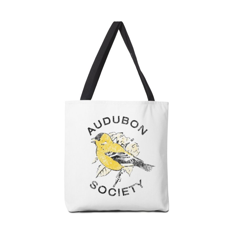 Vintage Goldfinch in Tote Bag by Official National Audubon Society Retail Store