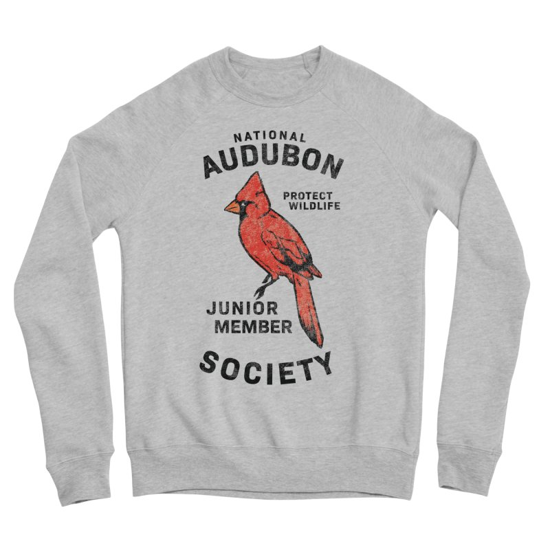 Vintage Cardinal Junior Member Women's Sponge Fleece Sweatshirt by Official National Audubon Society Retail Store