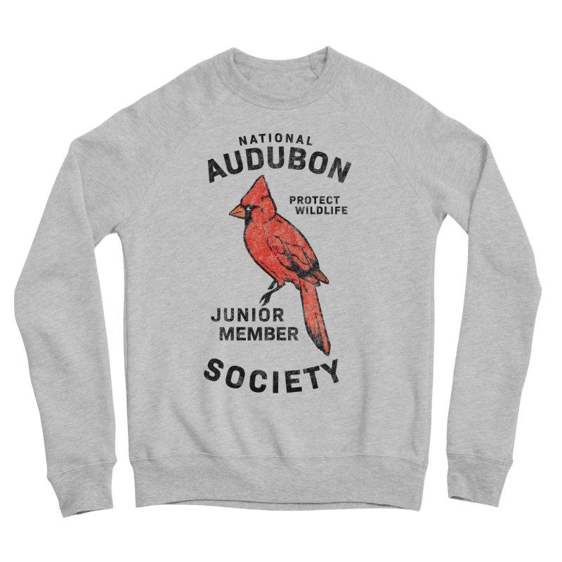 Vintage Cardinal Junior Member Men's Sponge Fleece Sweatshirt by Official National Audubon Society Retail Store