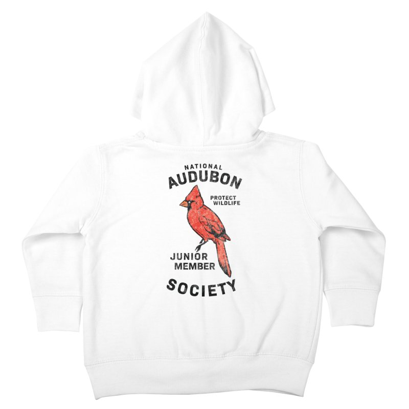 Vintage Cardinal Junior Member Kids Toddler Zip-Up Hoody by Official National Audubon Society Retail Store