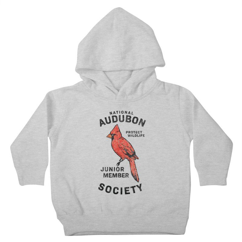 Vintage Cardinal Junior Member Kids Toddler Pullover Hoody by Official National Audubon Society Retail Store