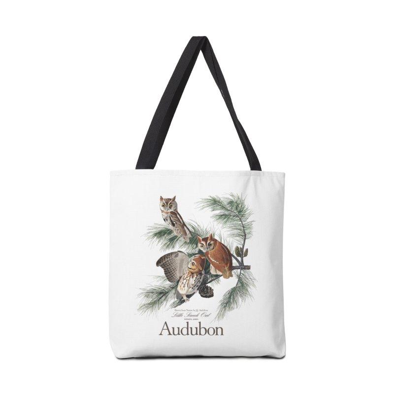 John James Audubon Screech Owls Accessories Tote Bag Bag by Official National Audubon Society Retail Store