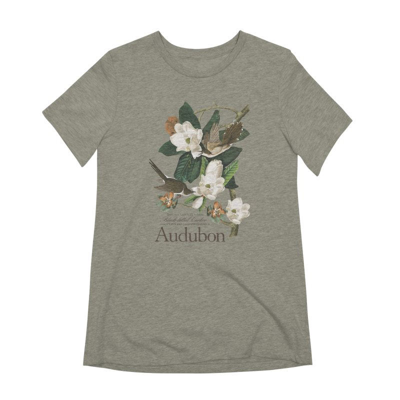 John James Audubon Cuckoo Women's T-Shirt by Official National Audubon Society Retail Store