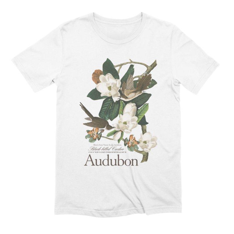 John James Audubon Cuckoo Men's Extra Soft T-Shirt by Official National Audubon Society Retail Store