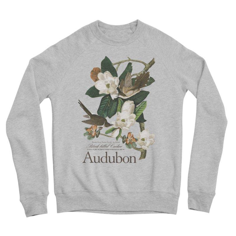 John James Audubon Cuckoo Men's Sponge Fleece Sweatshirt by Official National Audubon Society Retail Store