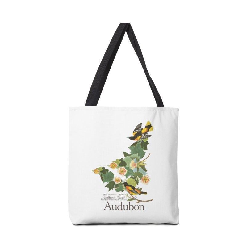 John James Audubon Oriole Accessories Tote Bag Bag by Official National Audubon Society Retail Store