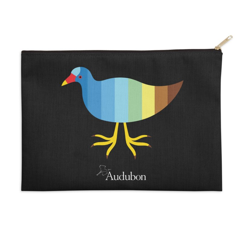 Purple Gallinule by Olimpia Zagnoli Accessories Zip Pouch by Official National Audubon Society Retail Store