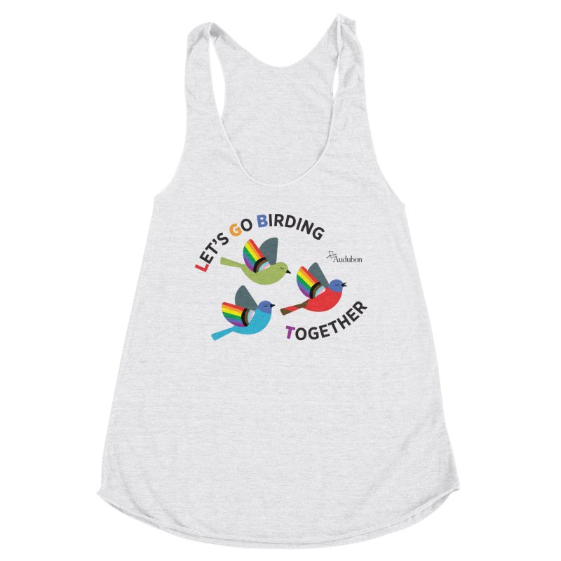 Let's Go Birding Together Women's Tank by Official National Audubon Society Retail Store
