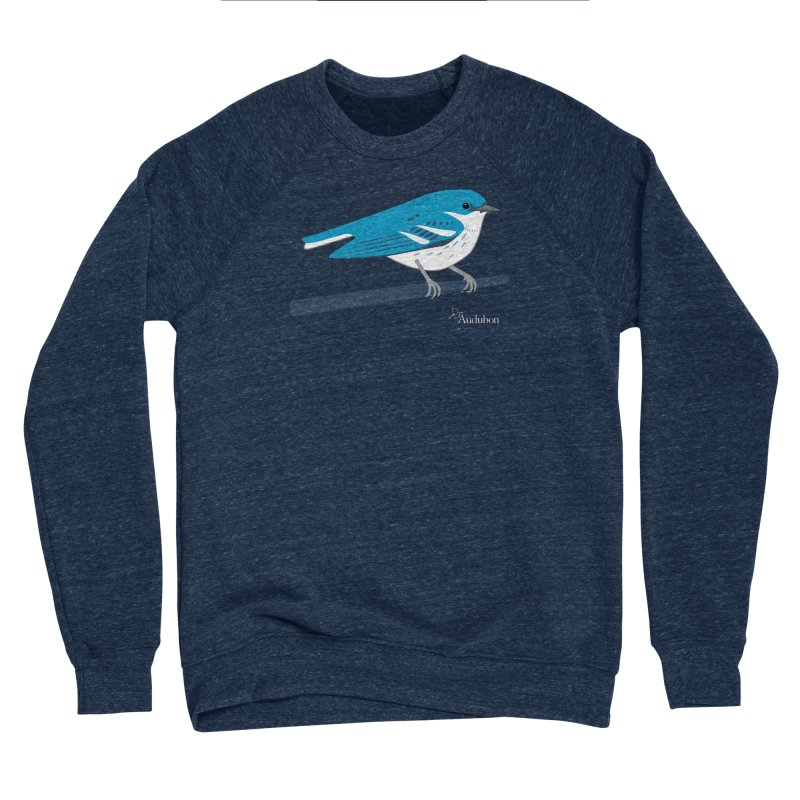 Cerulean Warbler by Shayna Marchese Women's Sweatshirt by Official National Audubon Society Retail Store