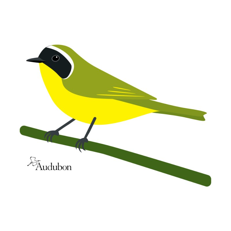 Common Yellowthroat by Shayna Marchese Women's T-Shirt by Official National Audubon Society Retail Store