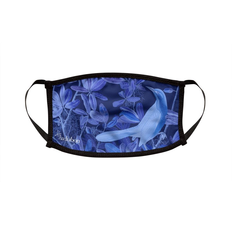 Avian Blue Accessories Face Mask by Official National Audubon Society Retail Store