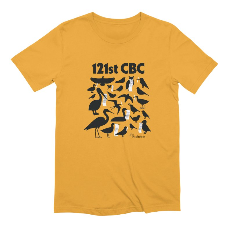 121st CBC Men's T-Shirt by Official National Audubon Society Retail Store