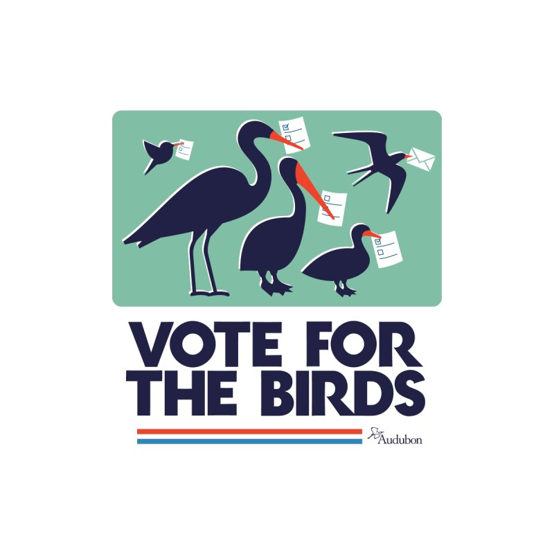 Vote For the Birds Men's T-Shirt by Official National Audubon Society Retail Store