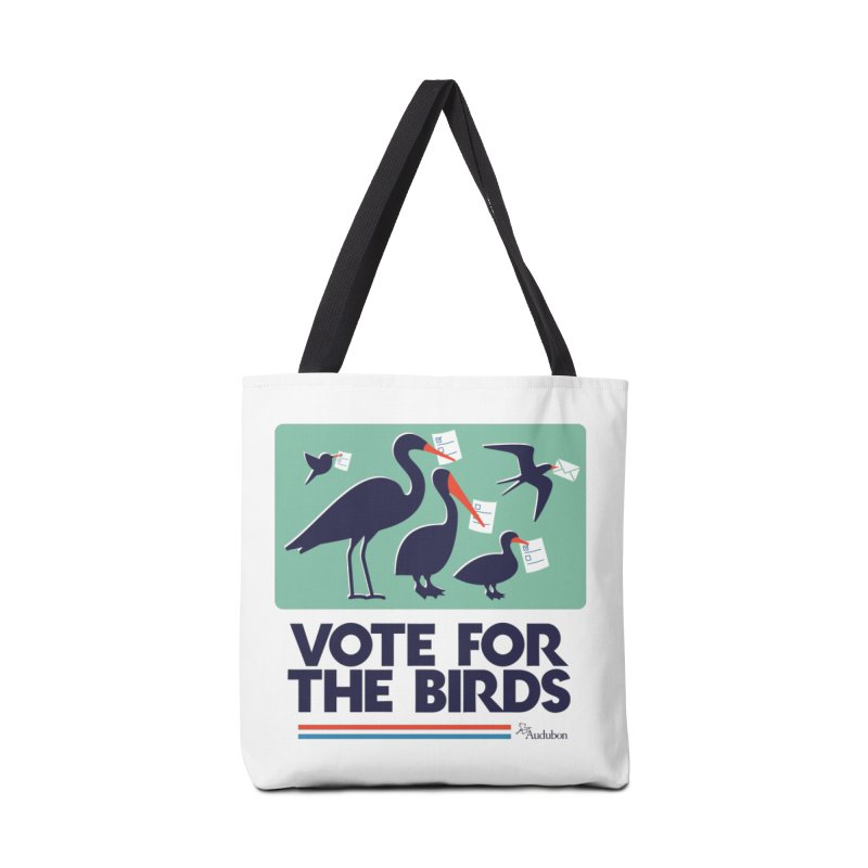 Vote For the Birds Accessories Bag by Official National Audubon Society Retail Store
