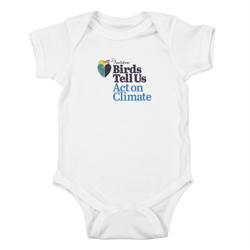 Birds Tell Us Kids Baby Bodysuit by Official National Audubon Society Retail Store
