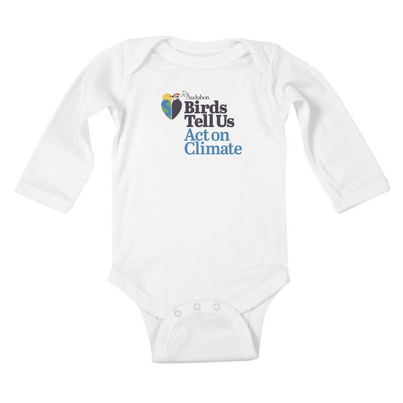 Birds Tell Us Kids Baby Longsleeve Bodysuit by Official National Audubon Society Retail Store