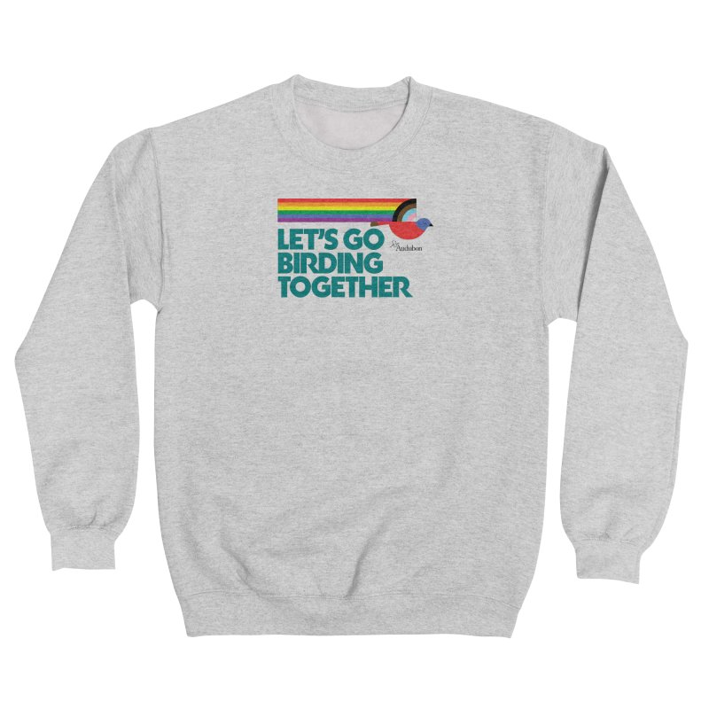 Let's Go Birding Together 2021 Men's Sweatshirt by Official National Audubon Society Retail Store