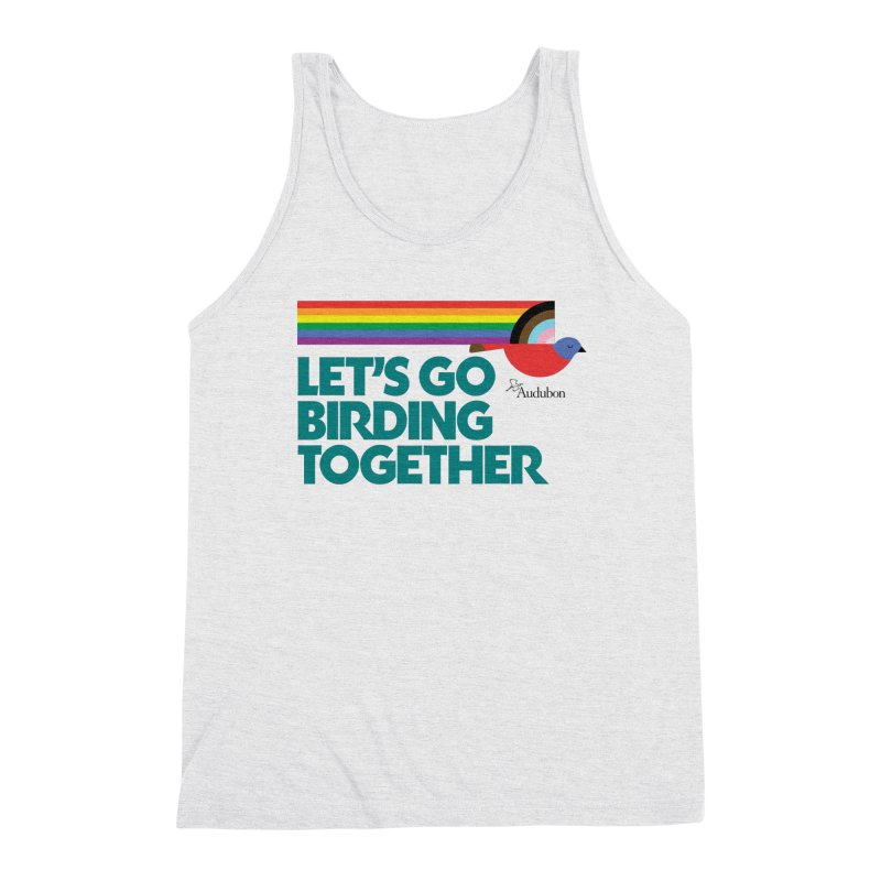 Let's Go Birding Together 2021 Men's Tank by Official National Audubon Society Retail Store