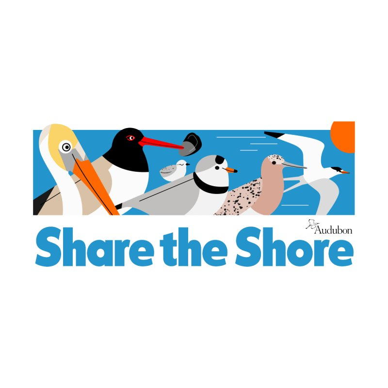 Share the Shore Men's Tank by Official National Audubon Society Retail Store