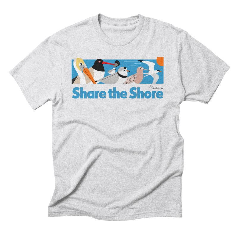 Share the Shore Men's T-Shirt by Official National Audubon Society Retail Store