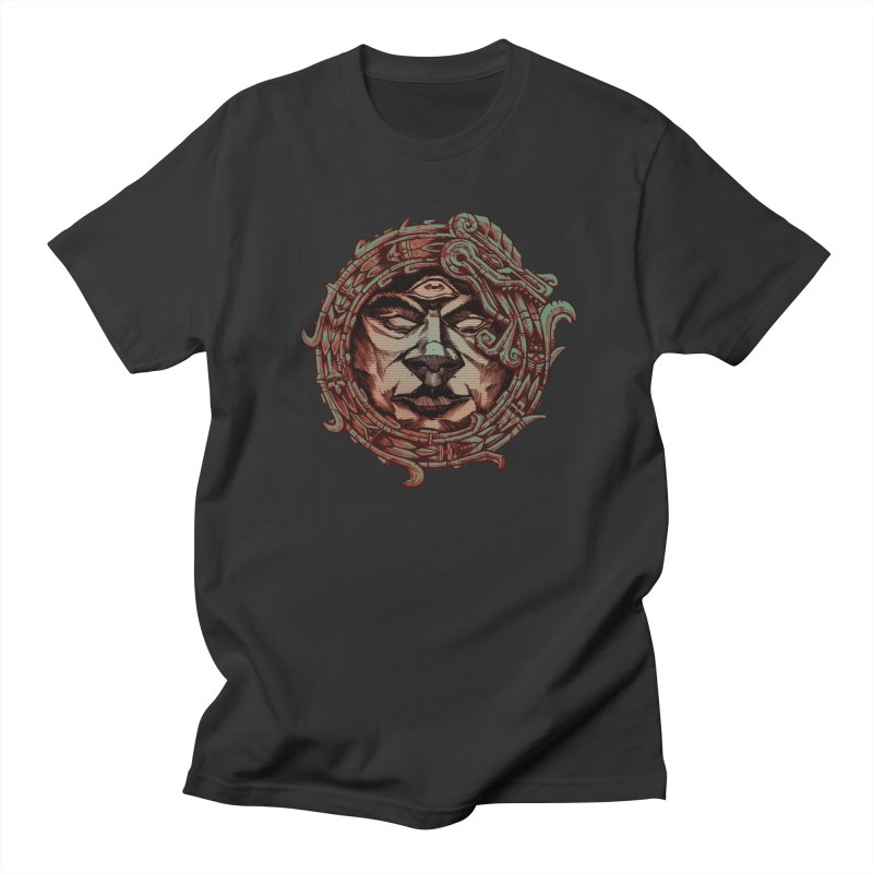 Quetzalcoatl Men's T-Shirt by auksone's Artist Shop