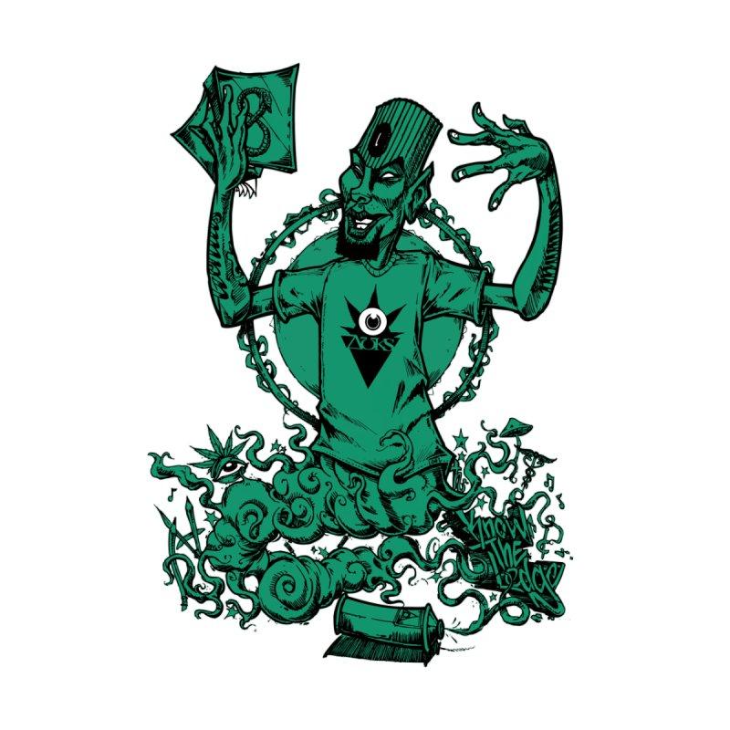 Graffiti Genie Men's T-Shirt by auksone's Artist Shop