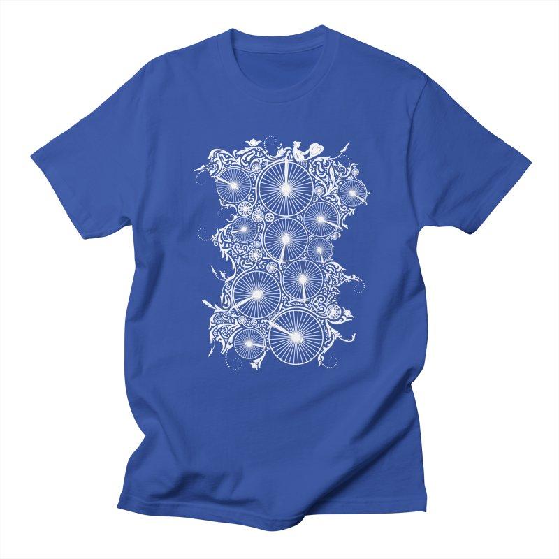 Pennyfarthing Design Men's Regular T-Shirt by auntspray's Artist Shop