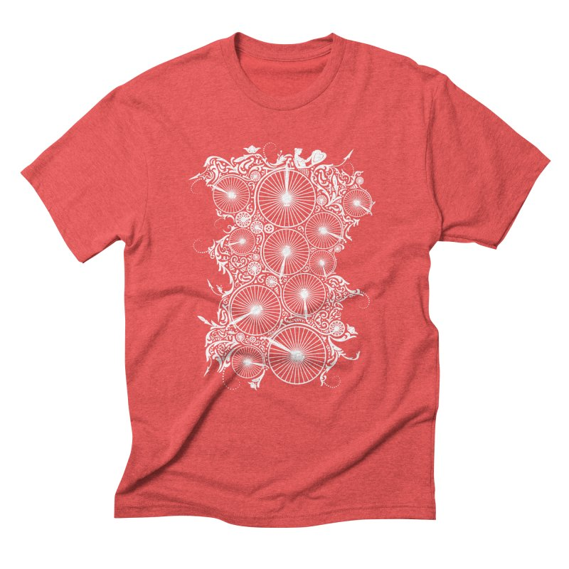 Pennyfarthing Design Men's Triblend T-Shirt by auntspray's Artist Shop