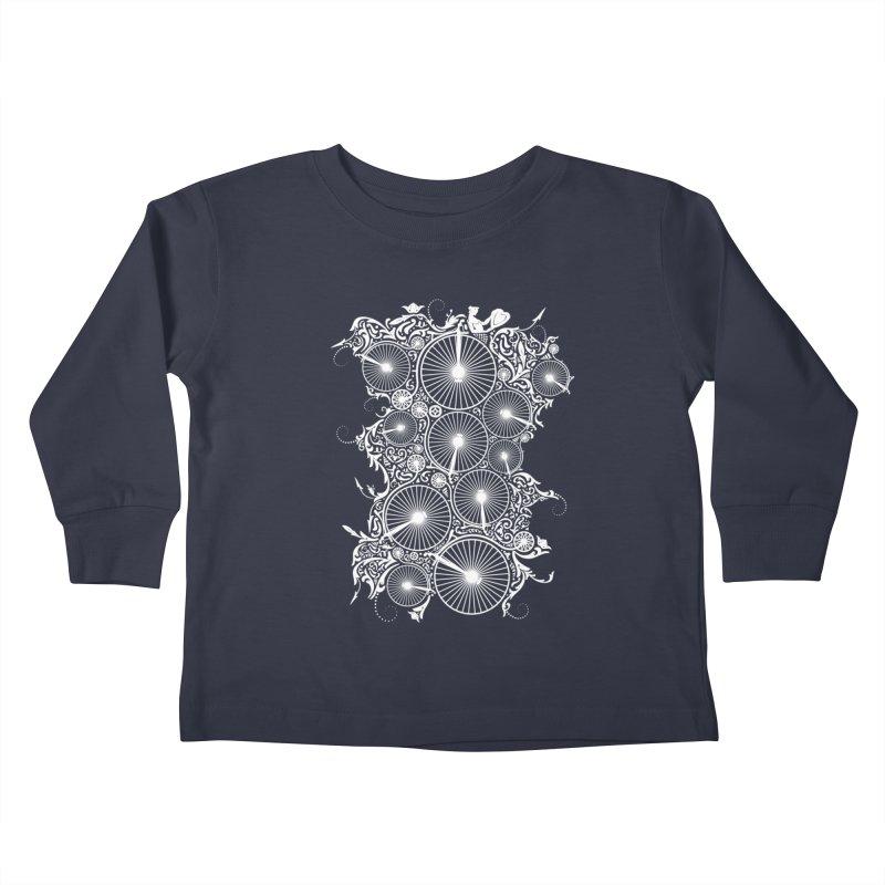 Pennyfarthing Design Kids Toddler Longsleeve T-Shirt by auntspray's Artist Shop