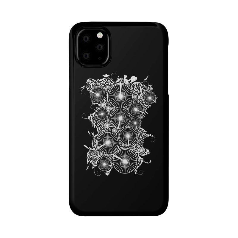 Pennyfarthing Design Accessories Phone Case by auntspray's Artist Shop
