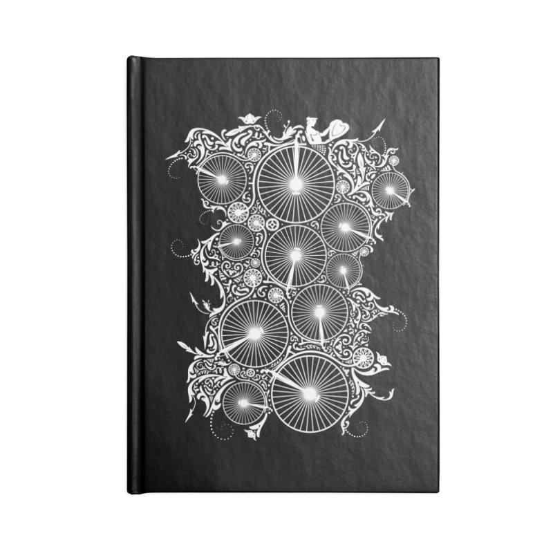 Pennyfarthing Design Accessories Notebook by auntspray's Artist Shop
